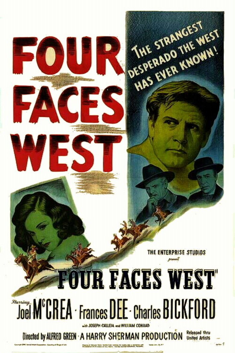 Four Faces West movie poster