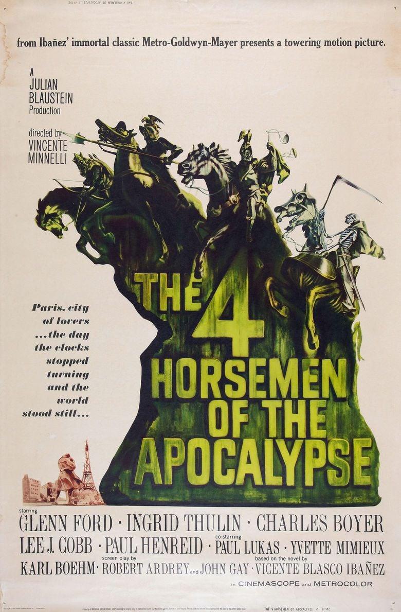 Four Horsemen of the Apocalypse (film) movie poster