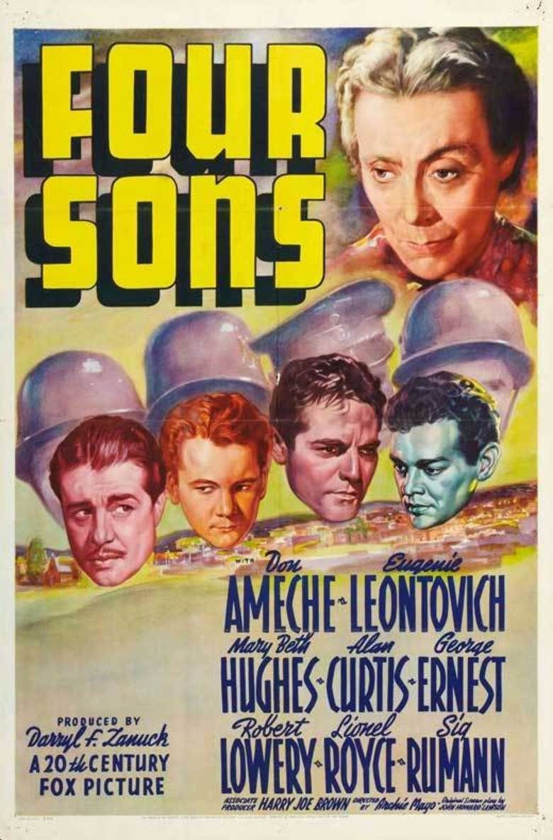 Four Sons (1940 film) movie poster