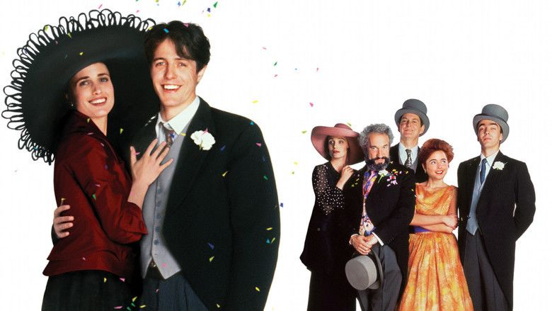Four Weddings and a Funeral movie scenes