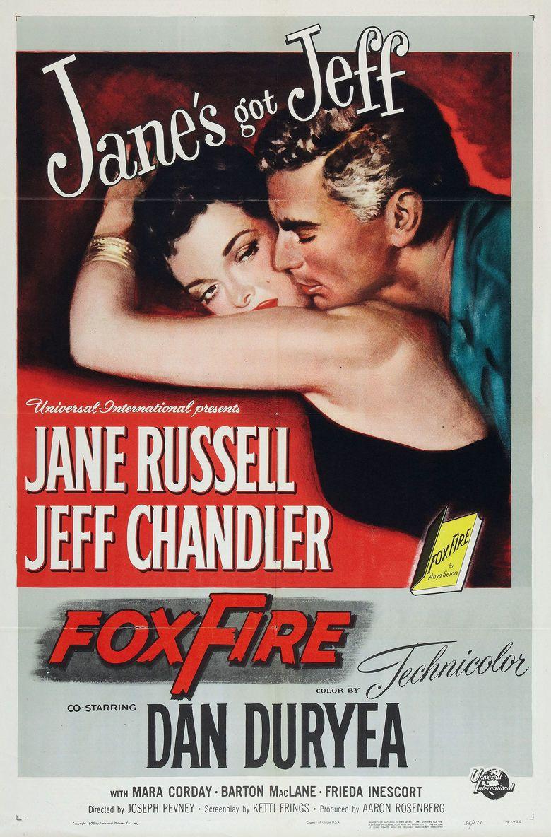 Foxfire (1955 film) movie poster