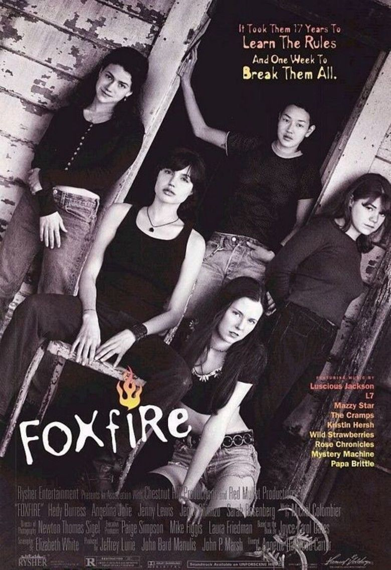 Foxfire (1996 film) movie poster