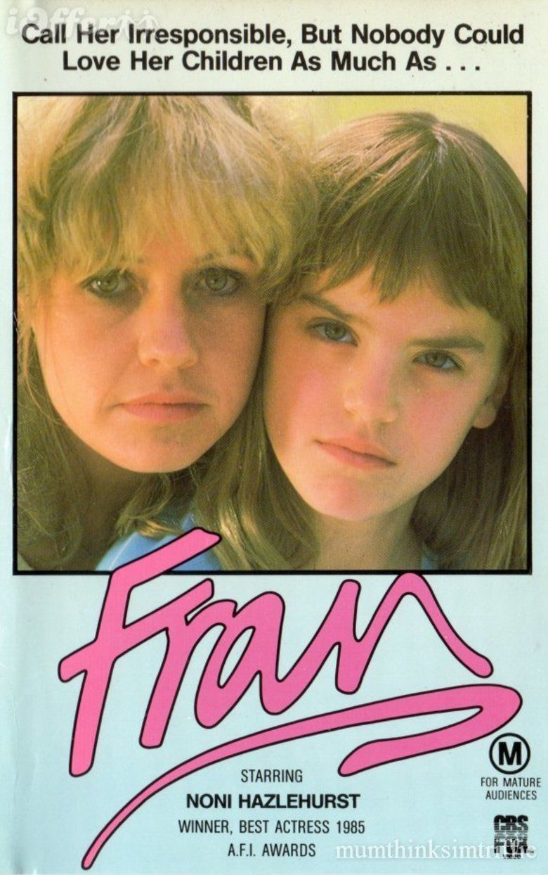 Fran (film) movie poster