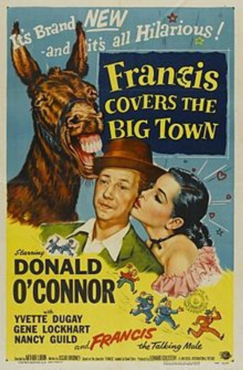 Francis Covers the Big Town movie poster