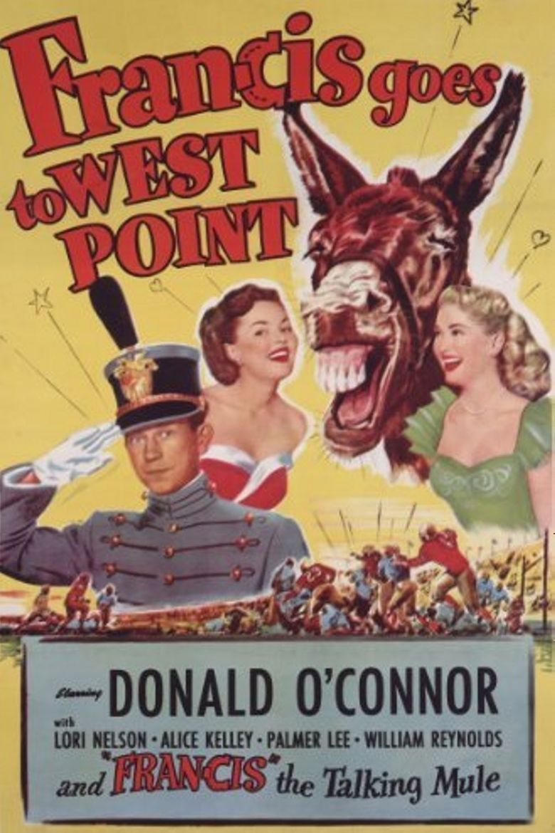 Francis Goes to West Point movie poster