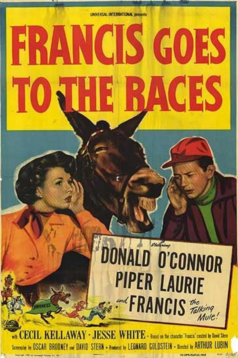 Francis Goes to the Races movie poster