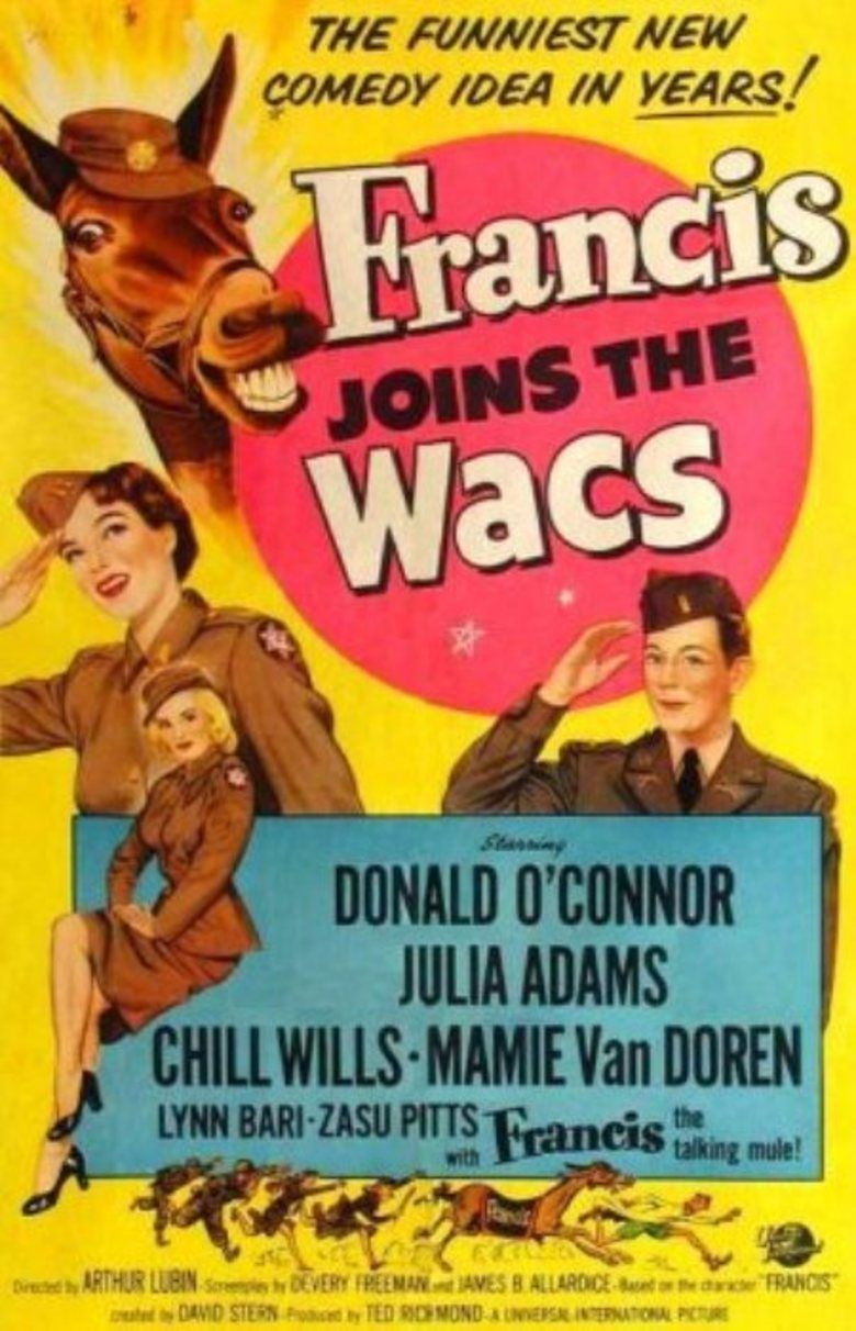 Francis Joins the WACS movie poster