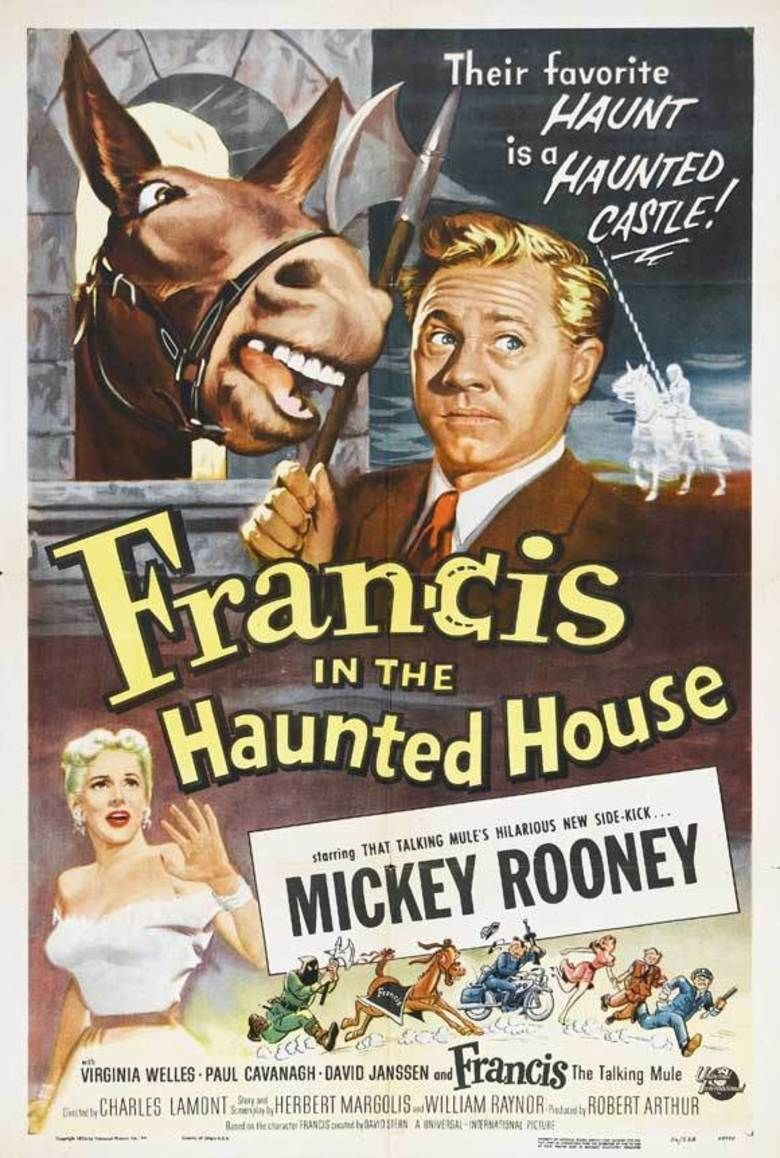 Francis in the Haunted House movie poster