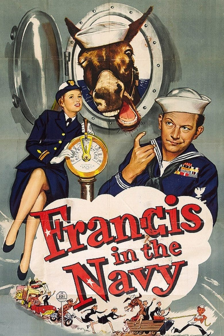 Francis in the Navy movie poster