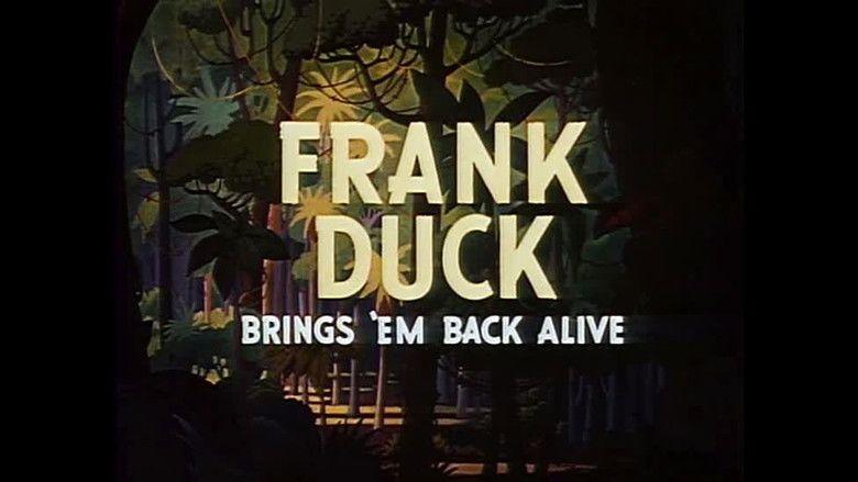 Frank Duck Brings Em Back Alive movie scenes
