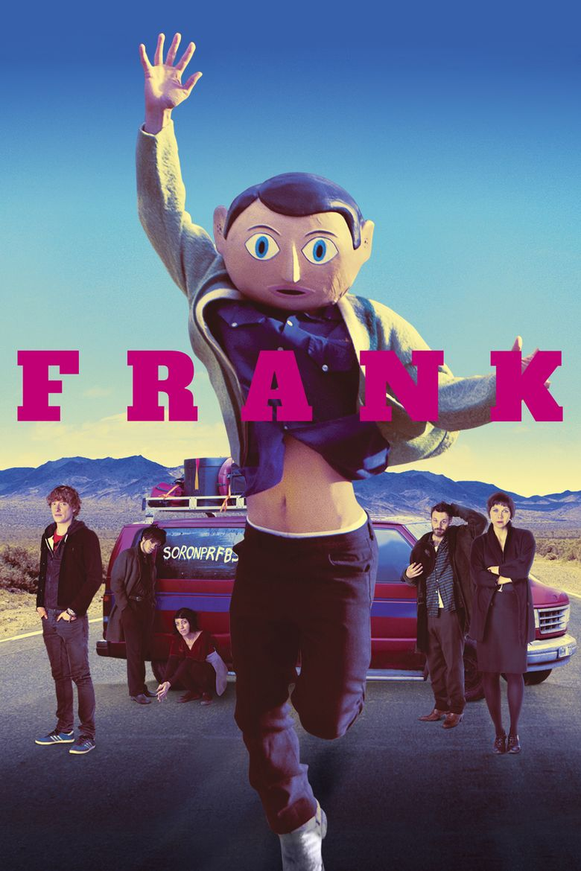 Frank (film) movie poster