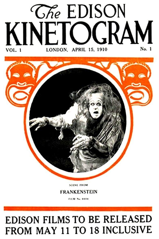 Frankenstein (1910 film) movie poster