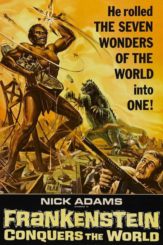 Frankenstein Conquers the World movie poster