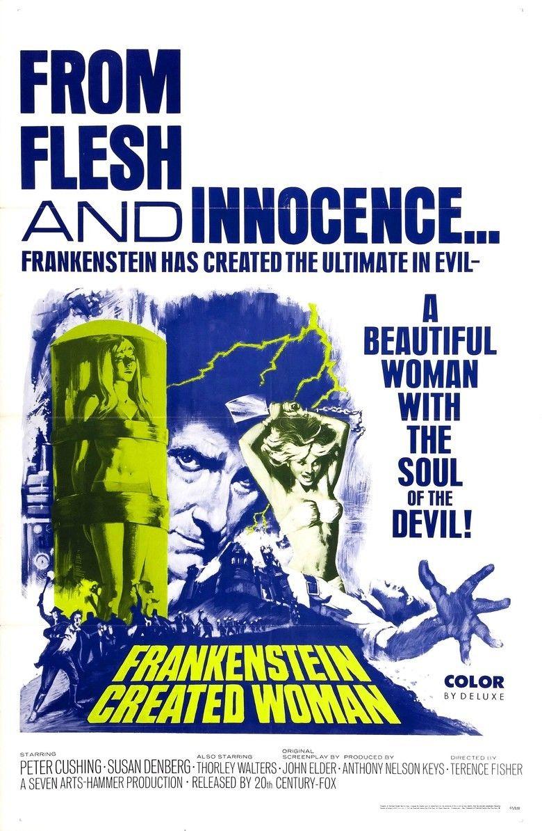Frankenstein Created Woman movie poster