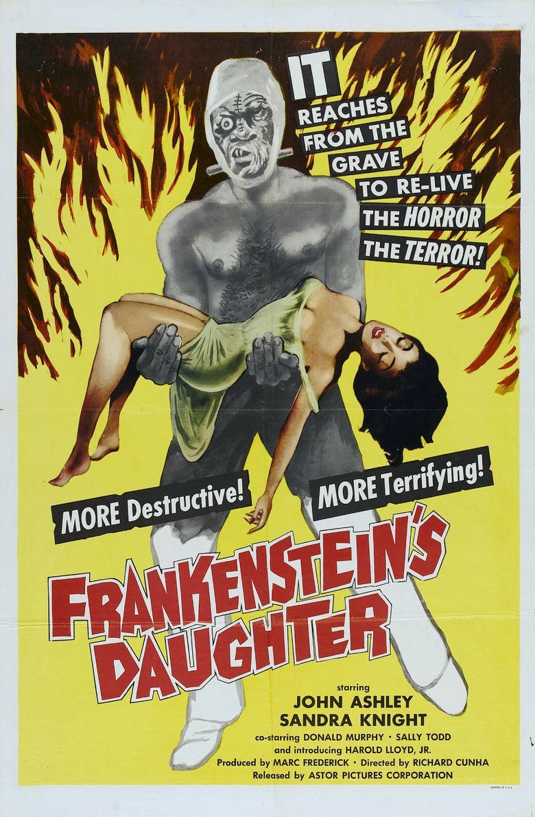 Frankensteins Daughter movie poster