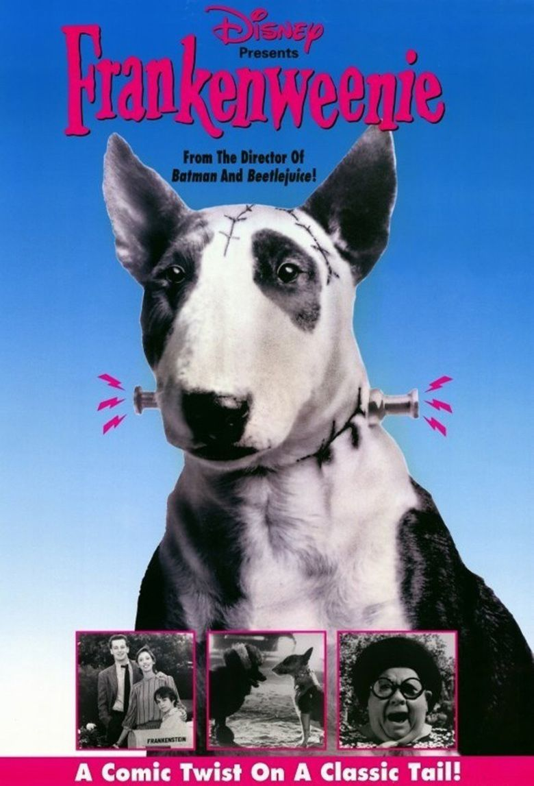 Frankenweenie (1984 film) movie poster