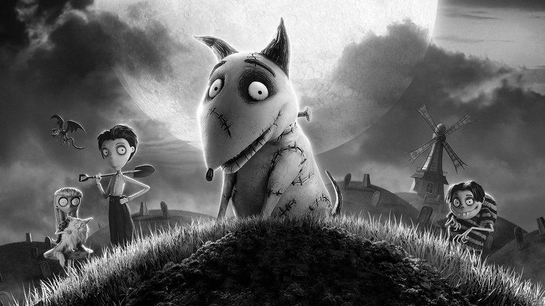 Frankenweenie (2012 film) movie scenes