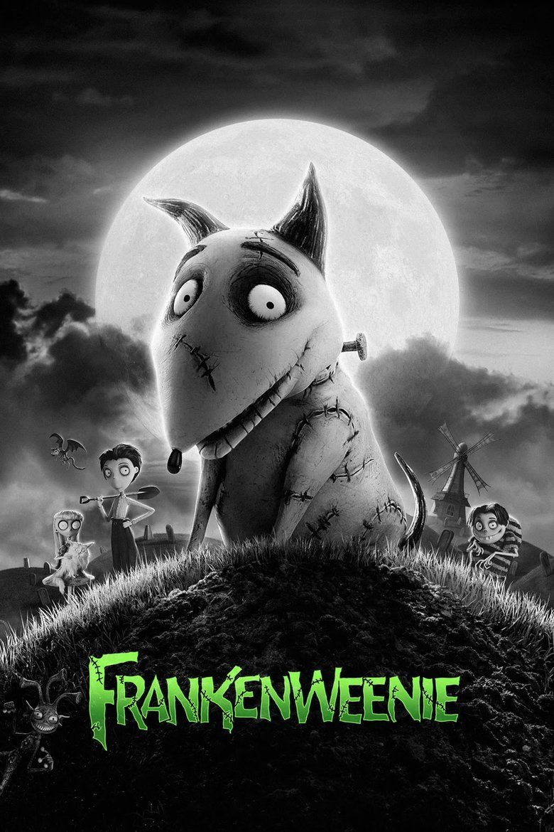 Frankenweenie (2012 film) movie poster