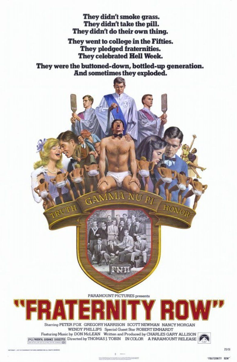 Fraternity Row (film) movie poster
