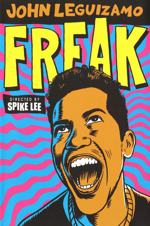 Freak (film) movie poster