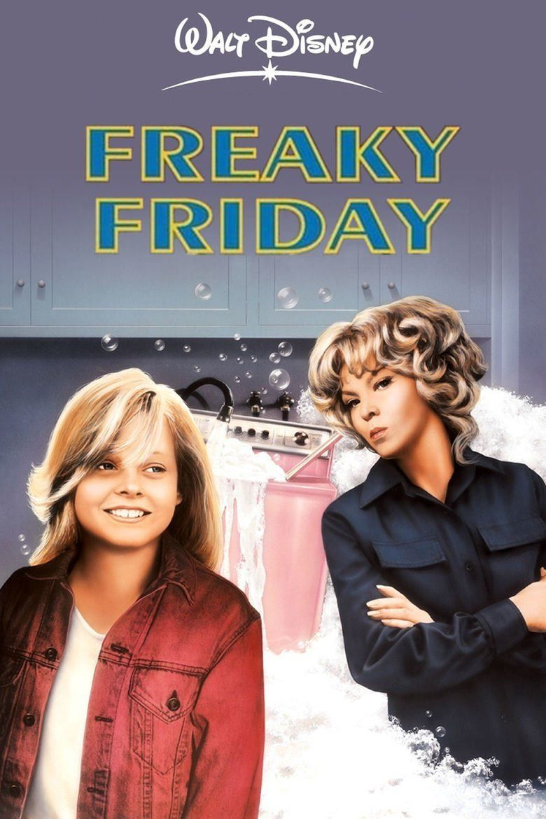 Freaky Friday (1976 film) movie poster