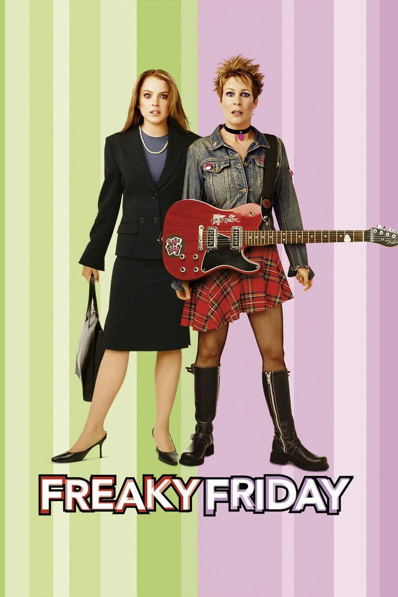 Freaky Friday (2003 film) movie poster