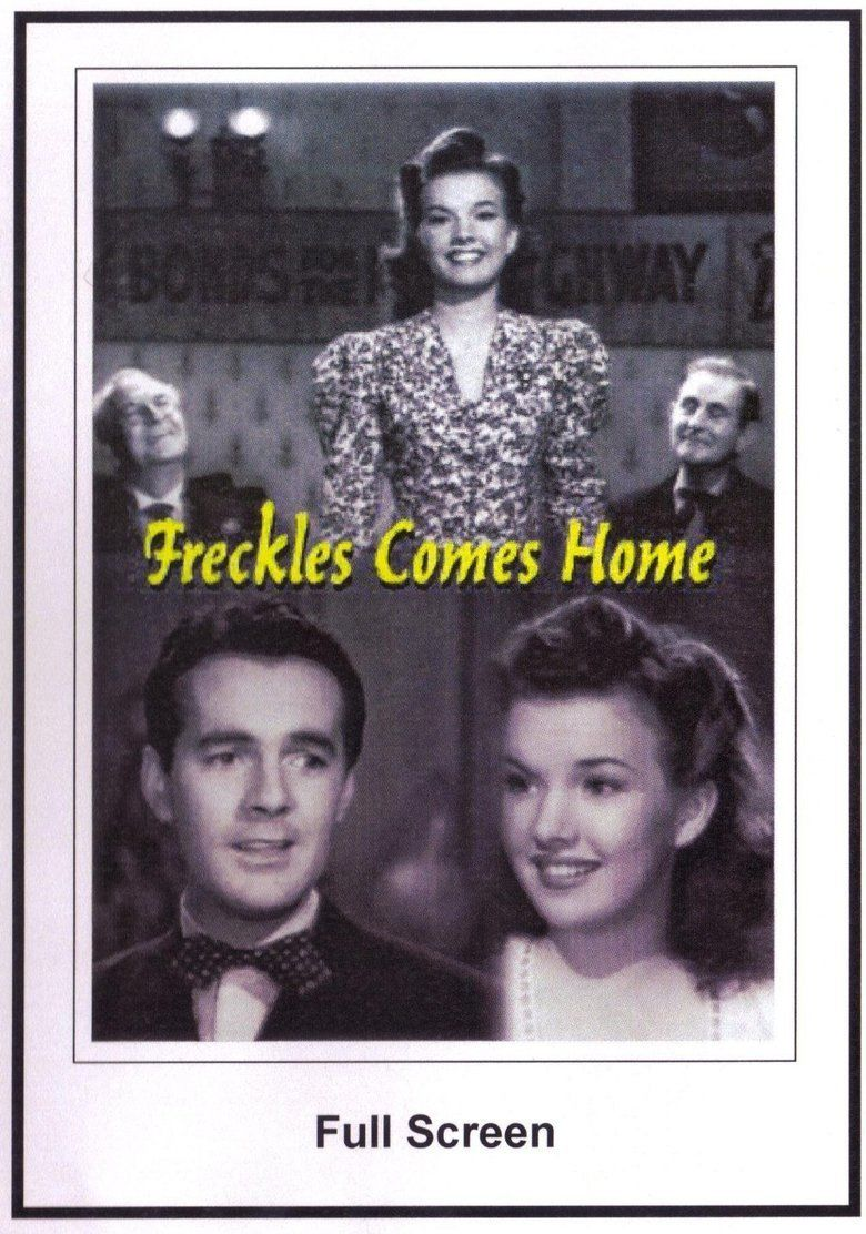 Freckles Comes Home movie poster
