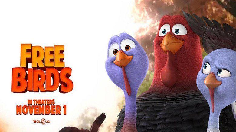 Free Birds movie scenes