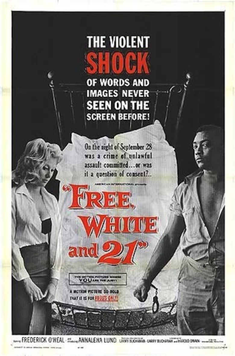 Free, White and 21 movie poster