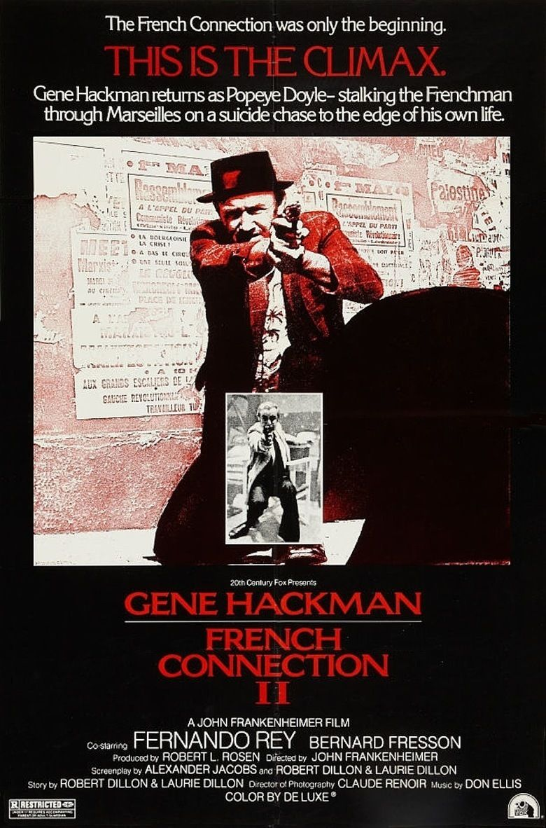 French Connection II movie poster