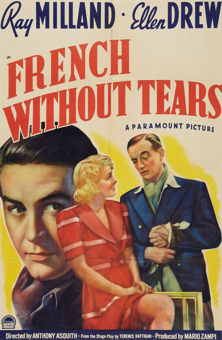 French Without Tears (film) movie poster