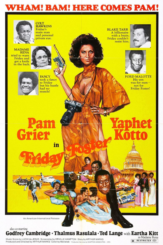 Friday Foster (film) movie poster