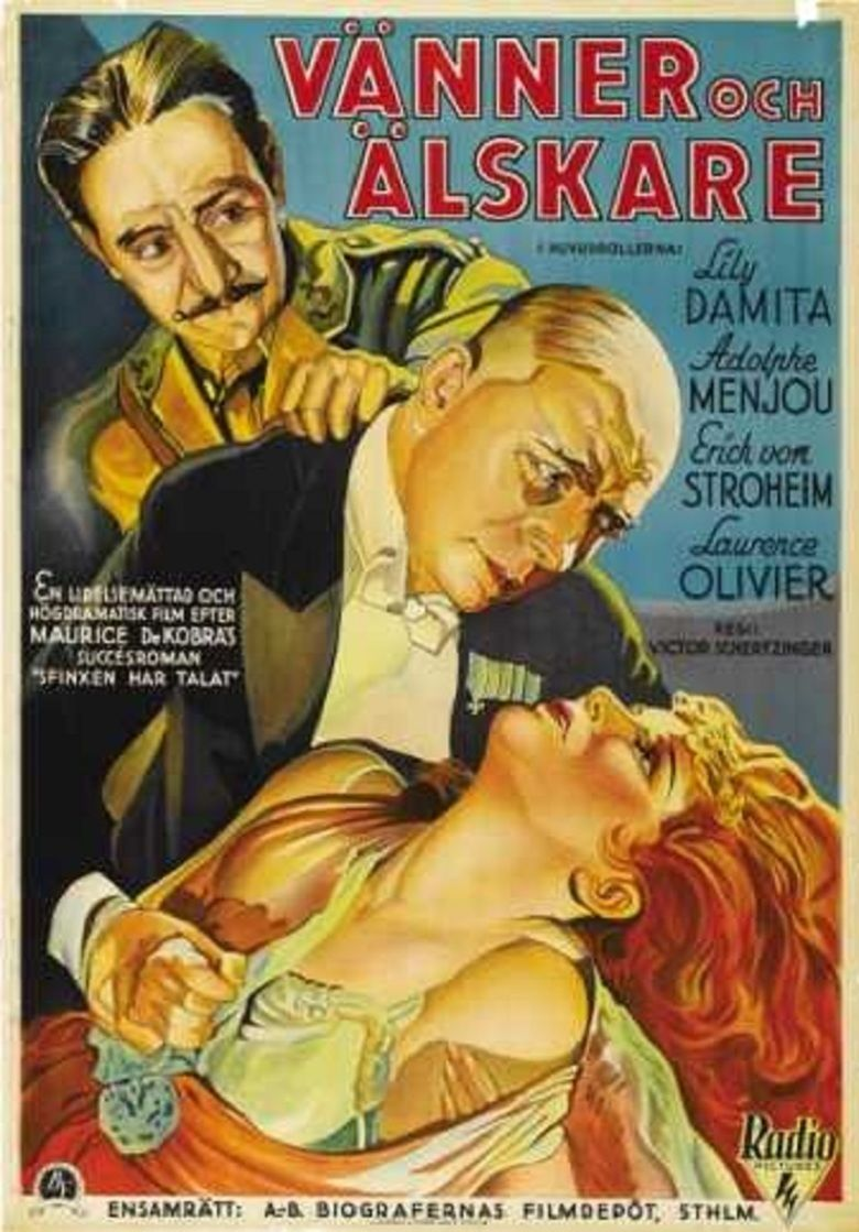 Friends and Lovers (1931 film) movie poster