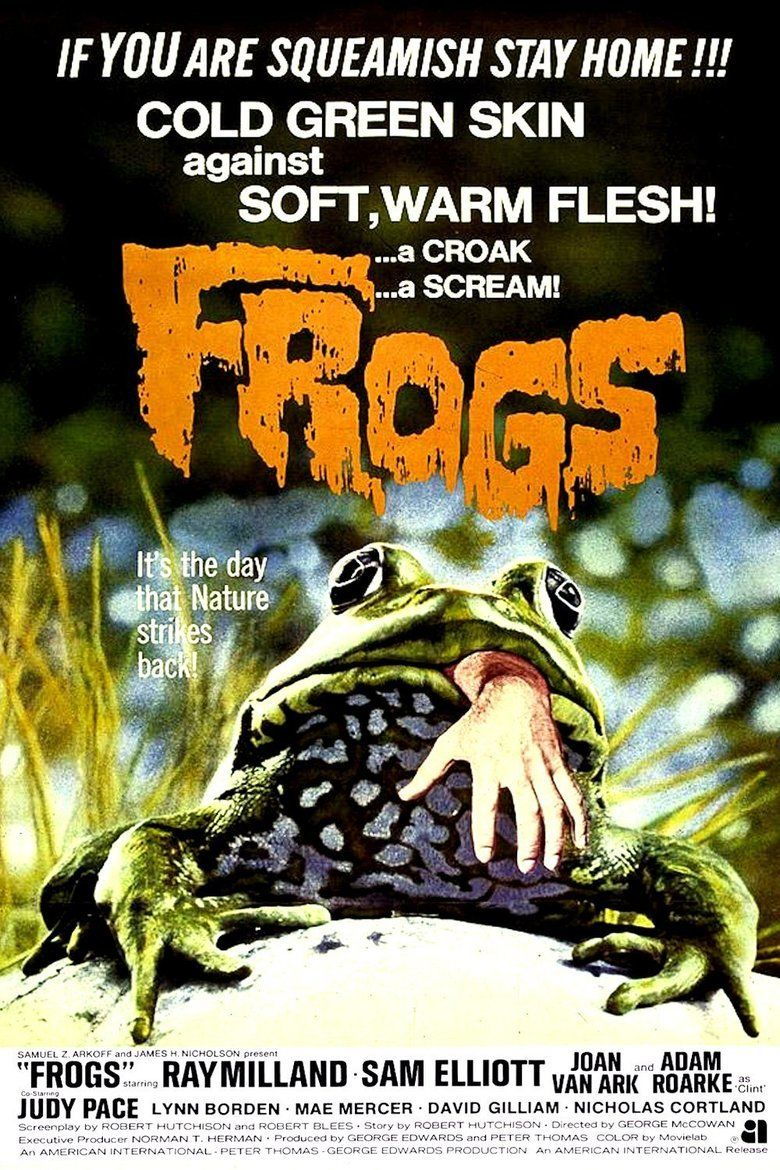 Frogs (film) movie poster