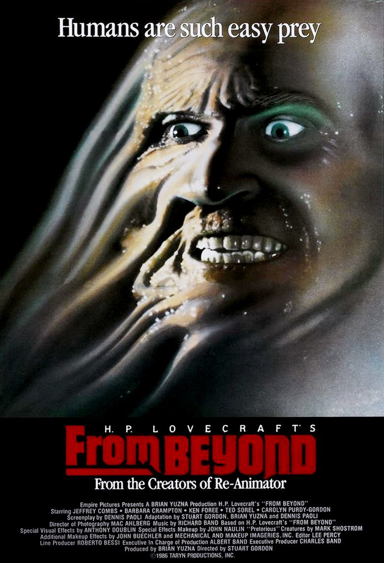 From Beyond (film) movie poster