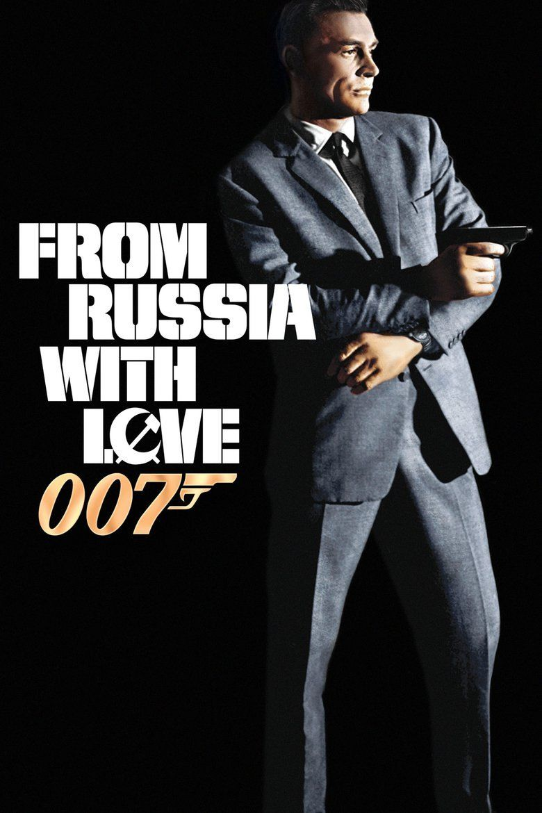 From Russia with Love (film) movie poster