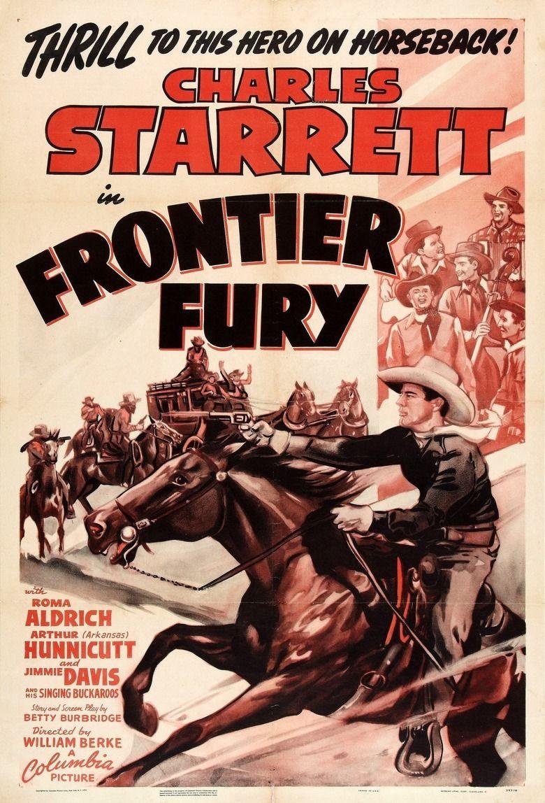 Frontier Fury (1943 film) movie poster
