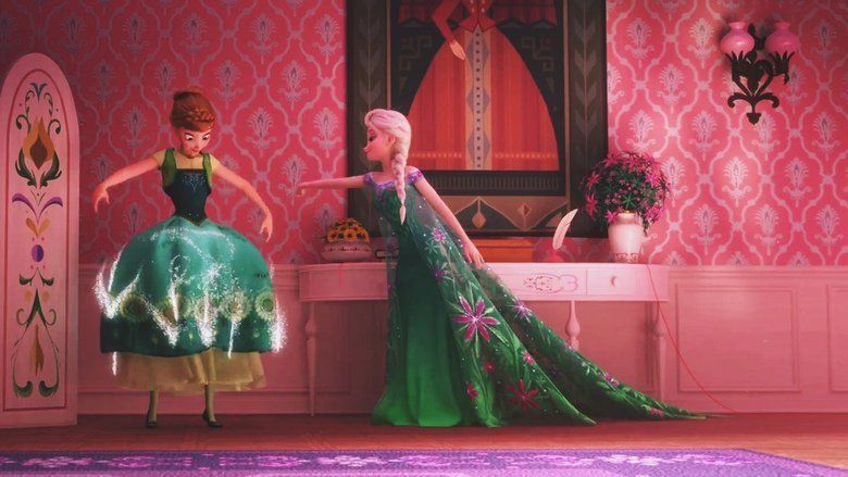 Frozen Fever movie scenes