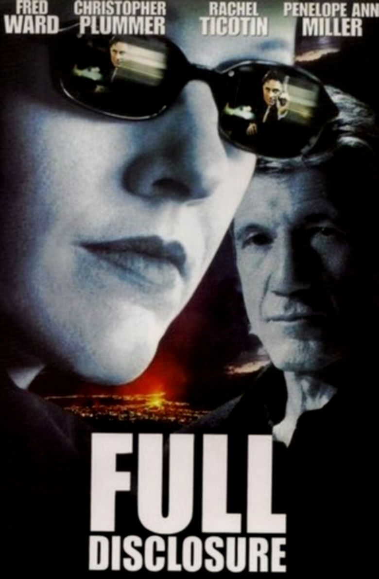 Full Disclosure (2001 film) movie poster