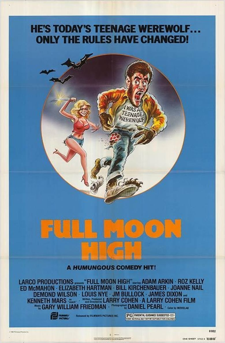 Full Moon High movie poster