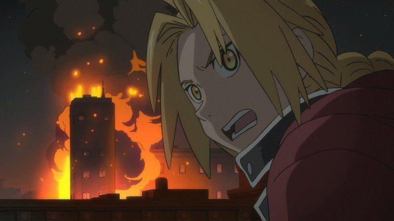 Fullmetal Alchemist: The Sacred Star of Milos movie scenes