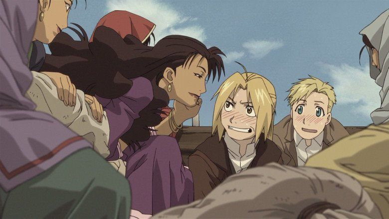 Fullmetal Alchemist the Movie: Conqueror of Shamballa movie scenes
