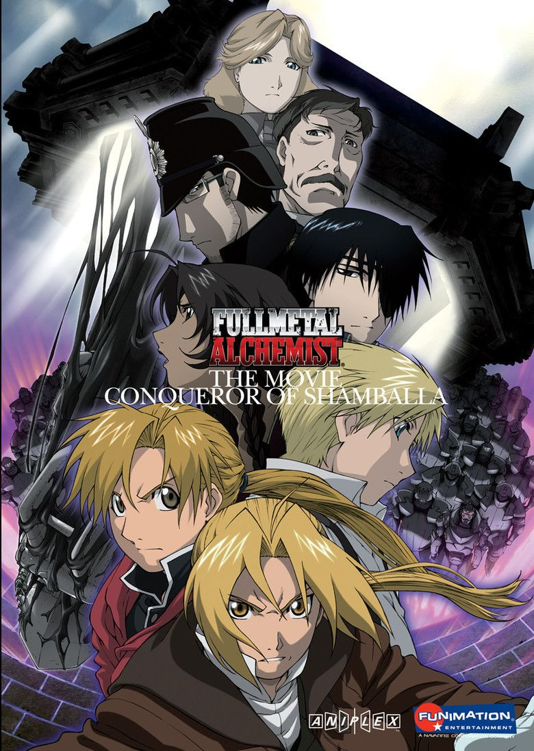 Fullmetal Alchemist the Movie: Conqueror of Shamballa movie poster