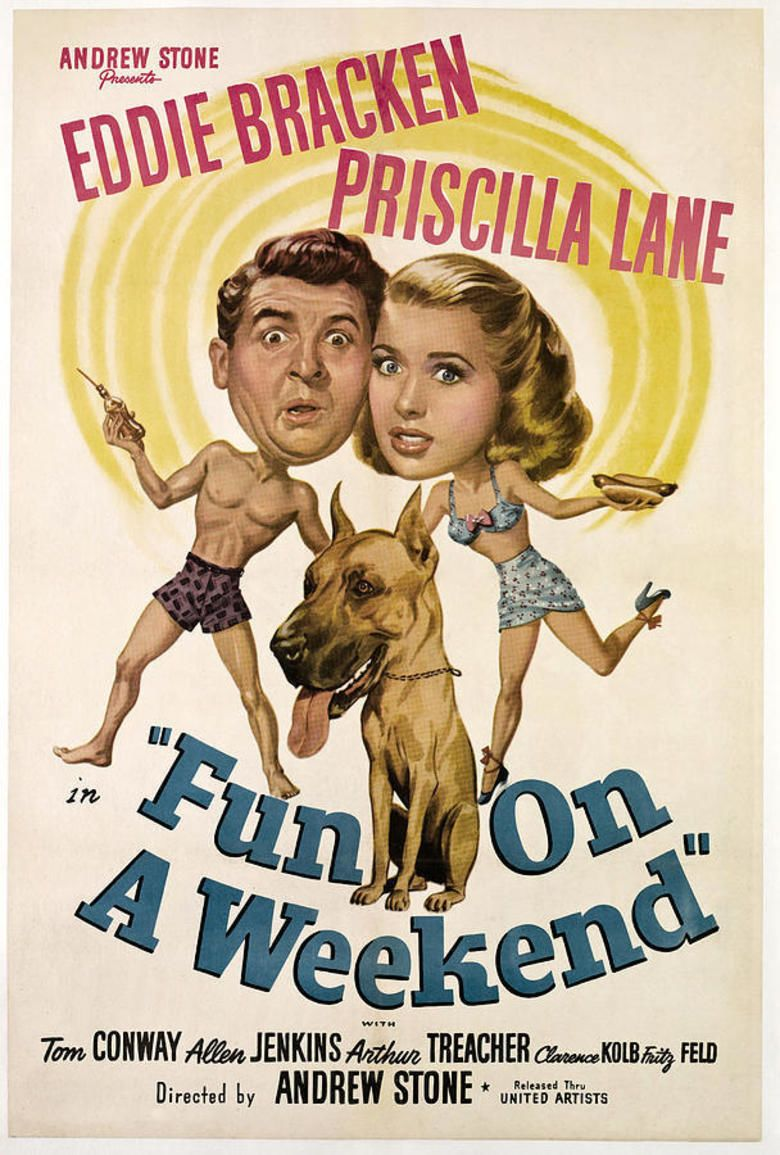 Fun on a Weekend movie poster