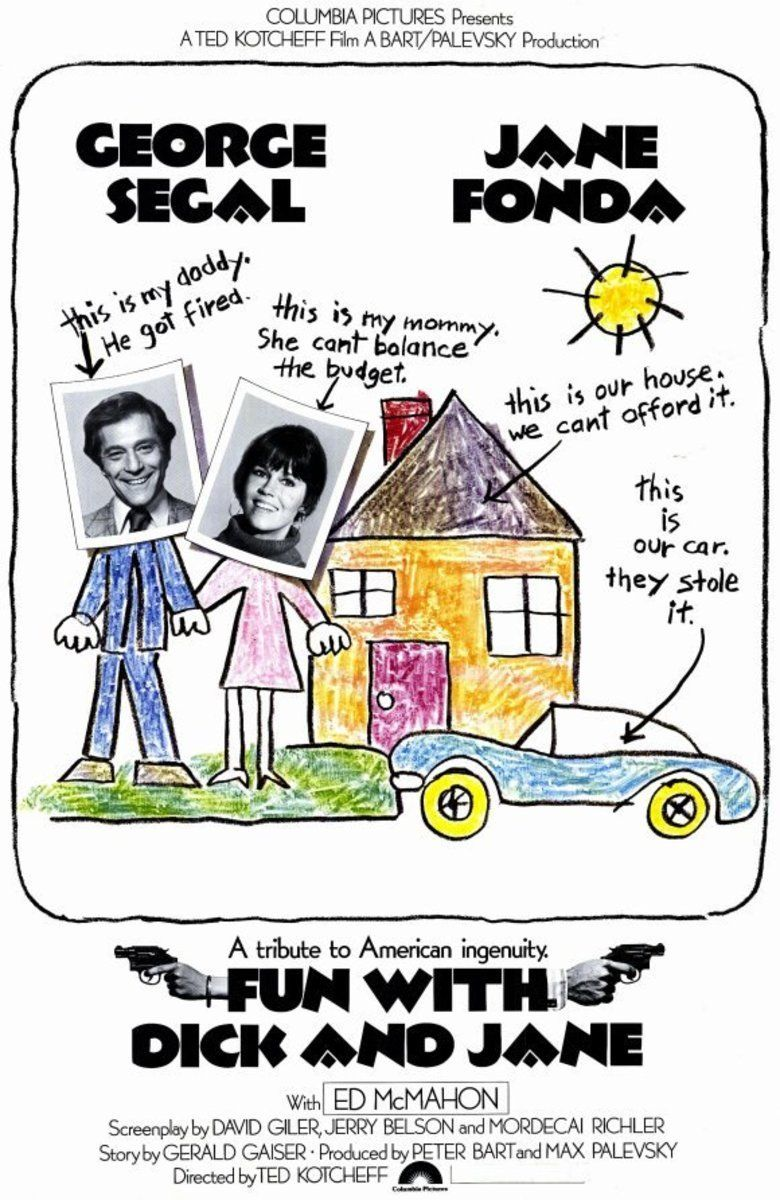 Fun with Dick and Jane (1977 film) movie poster