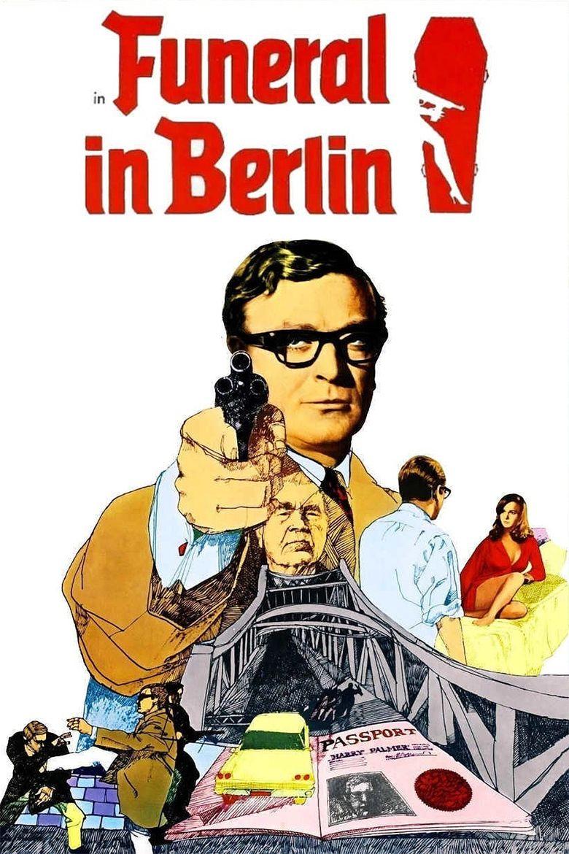 Funeral in Berlin (film) movie poster