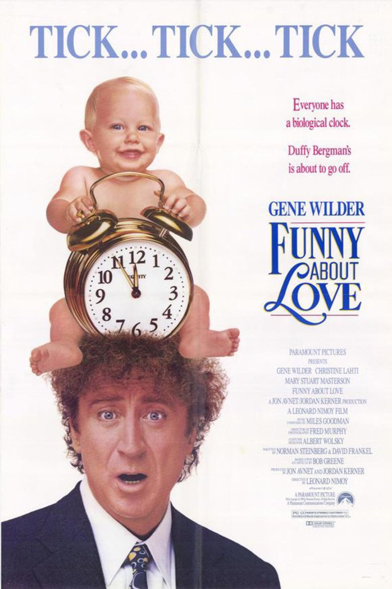 Funny About Love movie poster