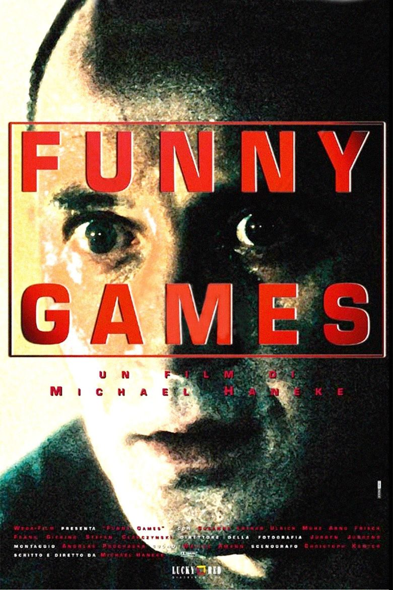 Funny Games (1997 film) movie poster