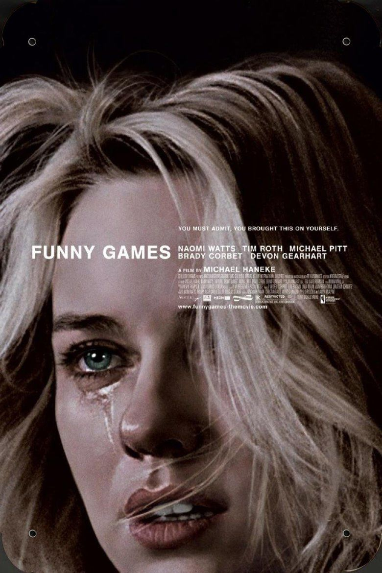 Funny Games (2007 film) movie poster