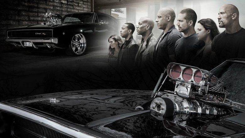 Furious 7 movie scenes